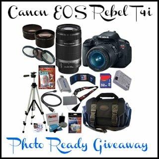 Win A Canon EOS REBEL Digital Camera