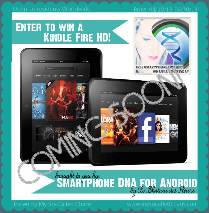 Kindle Fire HD Giveaway