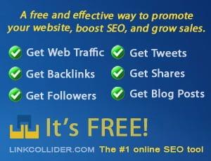 Link Collider – Increase Website Traffic, PageRank, SEO, Backlinks, Alexa