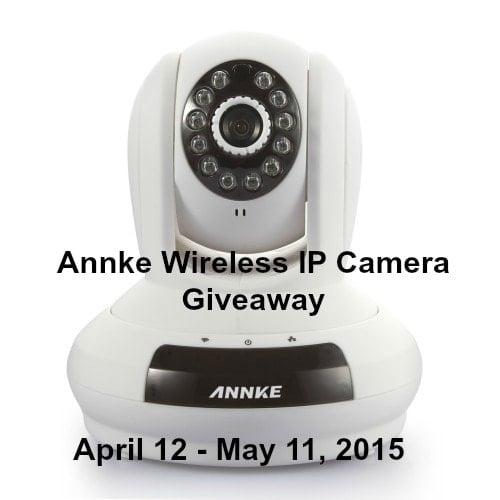 Annke Wireless IP Camera Giveaway