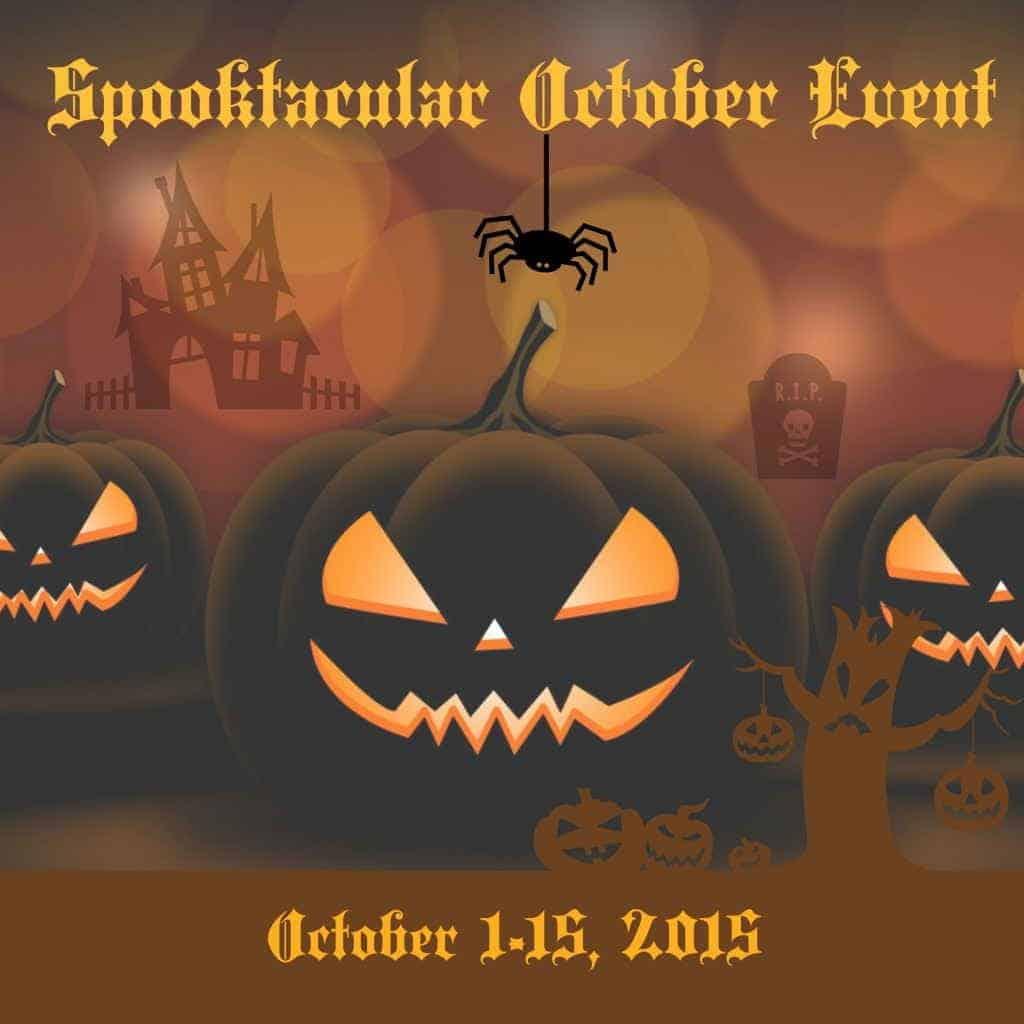 Halloween Spooktacular October Giveaway Event