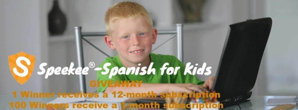 Online Spanish Courses Program Speekee Giveaway