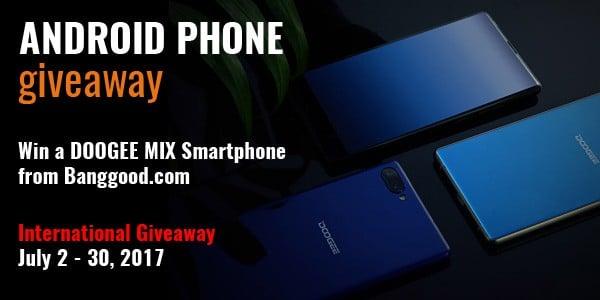 Doogee Mix Smartphone Giveaway