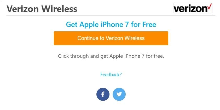 free iphone7